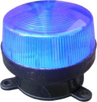 LED security strobe is a simple and cost effective intruder deterrent