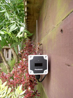 Parabeam wireless infrared beams are extremely reliable and easily concealed.